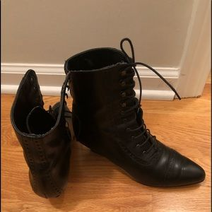 Sudini made in Italy Victorian lace up boots